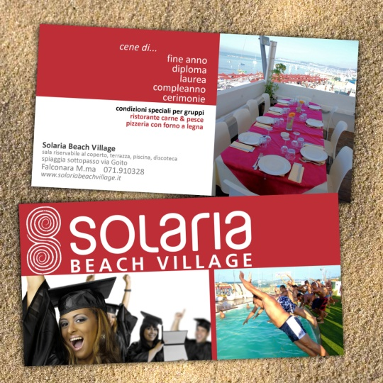flyer Solaria Beach Village